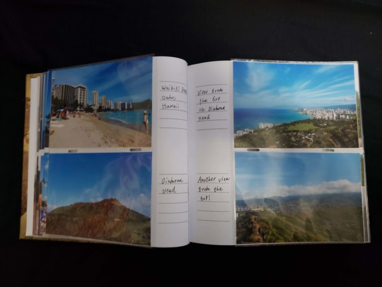 More pages from inside the photo album