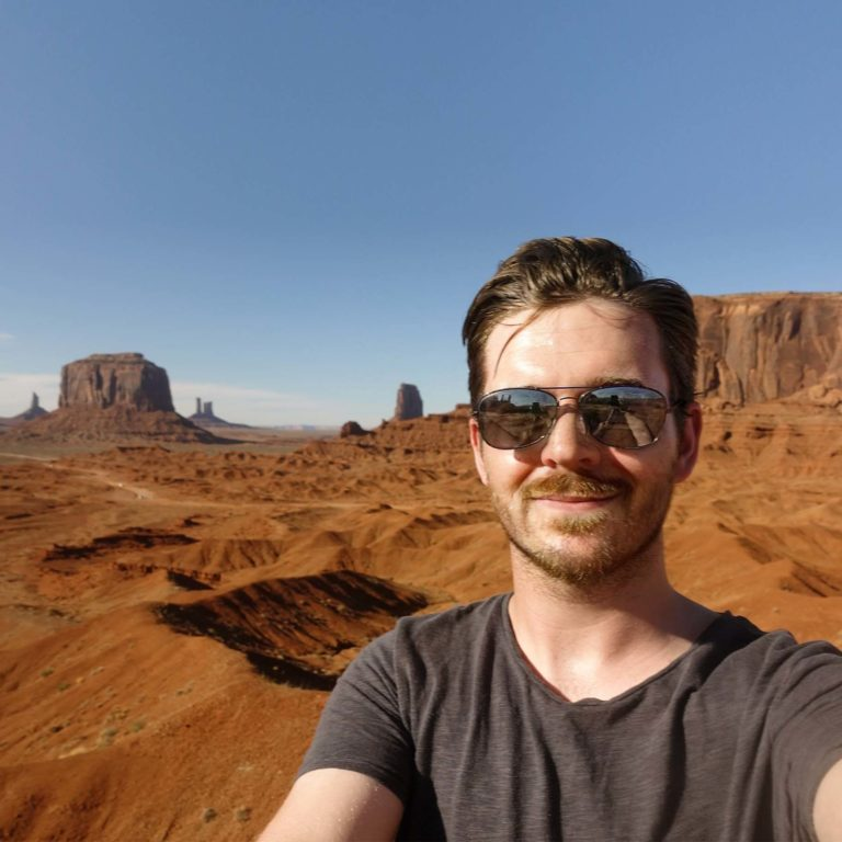Me, at Monument Valley!