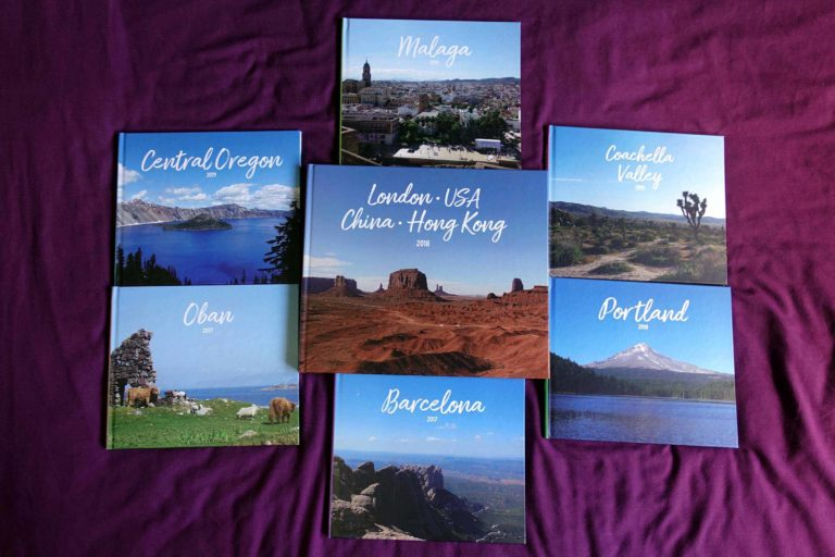 All my photo books front covers!